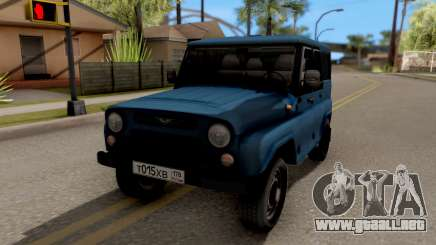 UAZ Hunter V8 Antigénica AcademeG para GTA San Andreas