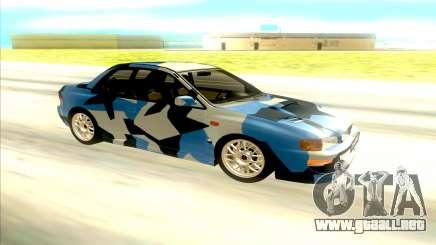 Subaru Impreza 22B STi para GTA San Andreas