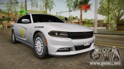 Dodge Charger 2015 Iowa State Patrol para GTA San Andreas