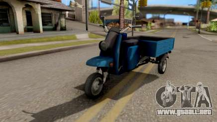Scooter De Motor Muravey para GTA San Andreas