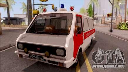 RAF 22031 Ambulancia de Pripyat para GTA San Andreas