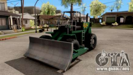 Paintable Dozer para GTA San Andreas
