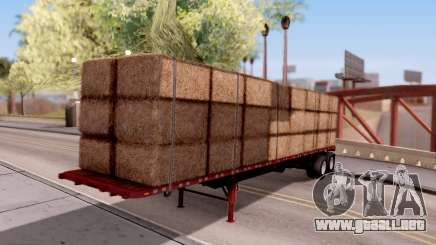 FlatBed Trailer From American Truck Simulator para GTA San Andreas