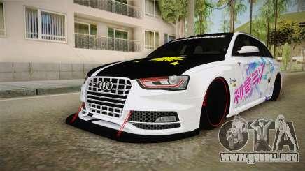 Audi S4 Avant Philippines 2017 para GTA San Andreas
