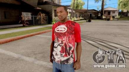 Ecko Unltd T-Shirt Red para GTA San Andreas