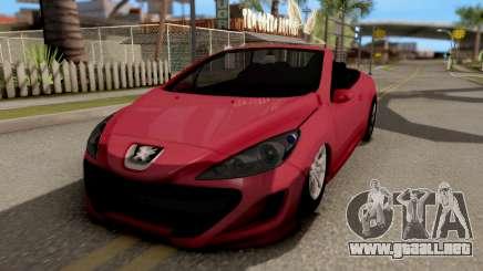 Peugeot 308 CC para GTA San Andreas