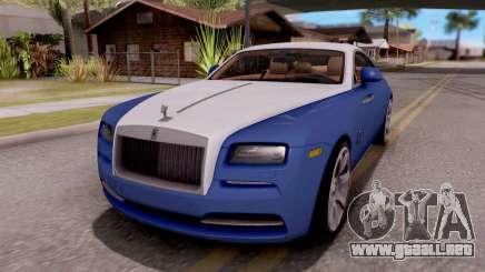 Rolls-Royce Wraith v2 para GTA San Andreas