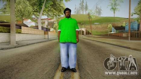 Nueva Humo para GTA San Andreas segunda pantalla