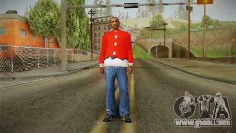 Chaqueta roja, Santa Claus para GTA San Andreas tercera pantalla