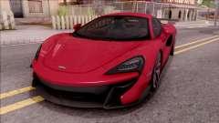 McLaren Vorsteiner 570-VX para GTA San Andreas