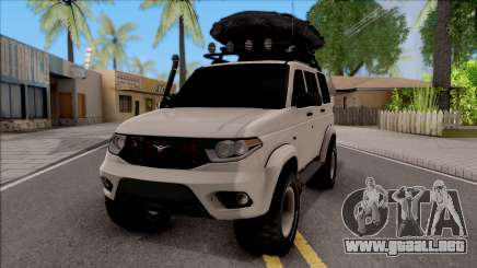 УАЗ Patriota Off-Road para GTA San Andreas