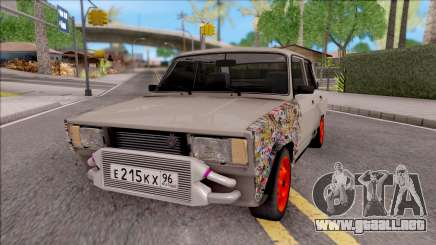 VAZ 2105 BK para GTA San Andreas