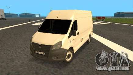 GAZelle Próximo all-metal van para GTA San Andreas