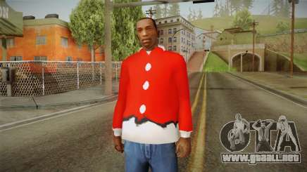 Chaqueta roja, Santa Claus para GTA San Andreas
