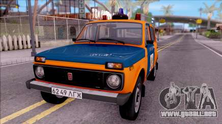 VAZ-2121 Niva de la Policía de la URSS para GTA San Andreas
