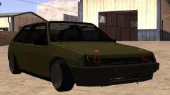 VAZ 2108 verde para GTA San Andreas