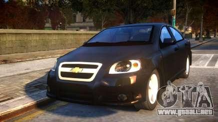 Chevrolet Aveo para GTA 4