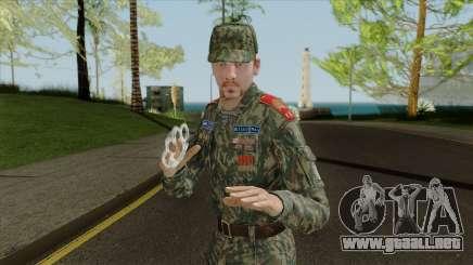 Vice-Sargento de boy scouts del cuerpo de cadetes para GTA San Andreas