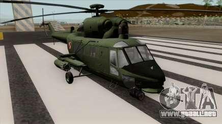 PZL W-3PL para GTA San Andreas