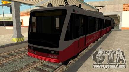 GTA V coche de Tren y Metro para GTA San Andreas