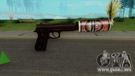 Desert Eagle BALTIKA Edition para GTA San Andreas