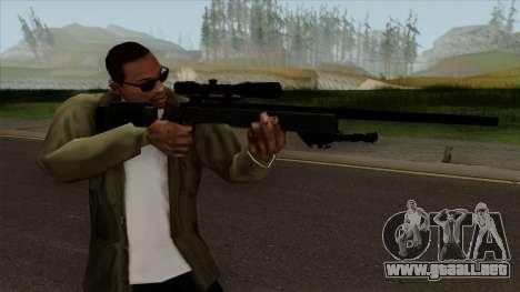 Modern Warfare Remastered M40A3 para GTA San Andreas tercera pantalla