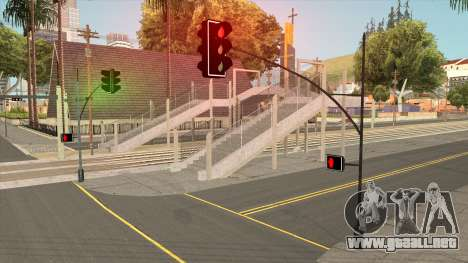 "New Street Lights ""Electrica"" para GTA San Andreas"