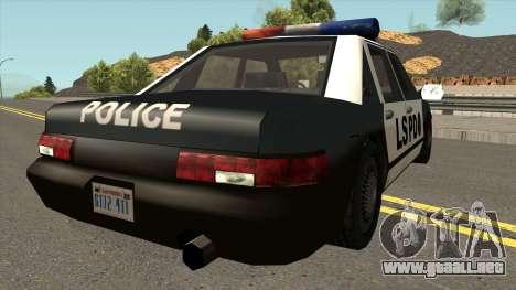 Echo Police SA Style para la visión correcta GTA San Andreas