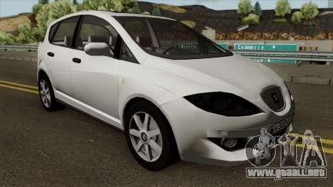 Seat Toledo 2006 1.9 Turbo-Diesel para visión interna GTA San Andreas