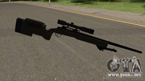 Modern Warfare Remastered M40A3 para GTA San Andreas segunda pantalla