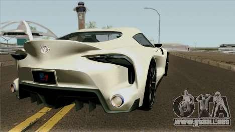 Toyota Supra FT-1 Concept 2014 para la visión correcta GTA San Andreas