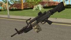 MG 4 from Warface para GTA San Andreas