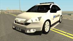 Honda CRV Emergency Management 2011 para GTA San Andreas