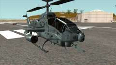 AH 1W Super Cobra Gunship para GTA San Andreas