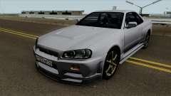Nissan Skyline R34 0.1 para GTA San Andreas