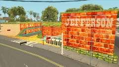 Jefferson Motel en el brillante y colores cálidos para GTA San Andreas