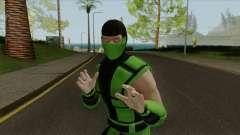 Mortal Kombat X Klassic Human Reptile para GTA San Andreas