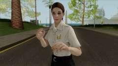 La policía chica HD para GTA San Andreas