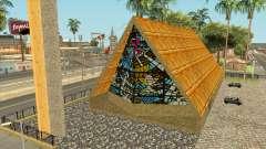 Iglesia con techo de paja en Jefferson para GTA San Andreas