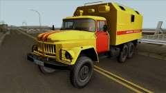 ZIL-131 de gas servicio de Emergencia de Ucrania para GTA San Andreas