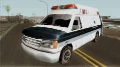 Carcer City Ambulance para GTA San Andreas