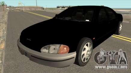 FBI Kuruma HD para GTA San Andreas
