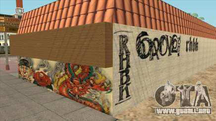 Graffiti en el Distrito de Idlewood para GTA San Andreas