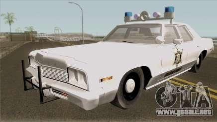 Dodge Monaco Hazzard County Sheriff para GTA San Andreas