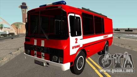 PAZ-3205 de Protección contra Incendios para GTA San Andreas