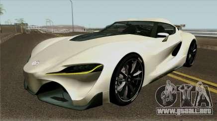 Toyota Supra FT-1 Concept 2014 para GTA San Andreas
