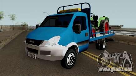 Iveco Daily Mk4 Abschleppwagen para GTA San Andreas
