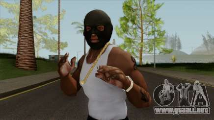 GTA V Balaclava For CJ para GTA San Andreas