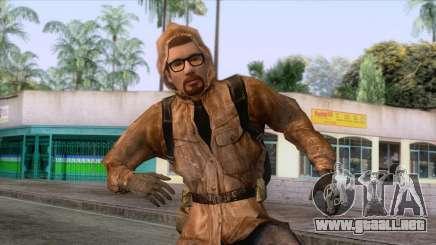 Freeman vestido como un Acosador para GTA San Andreas