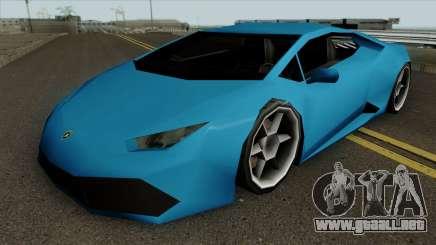 Lamborghini Huracan LQ para GTA San Andreas
